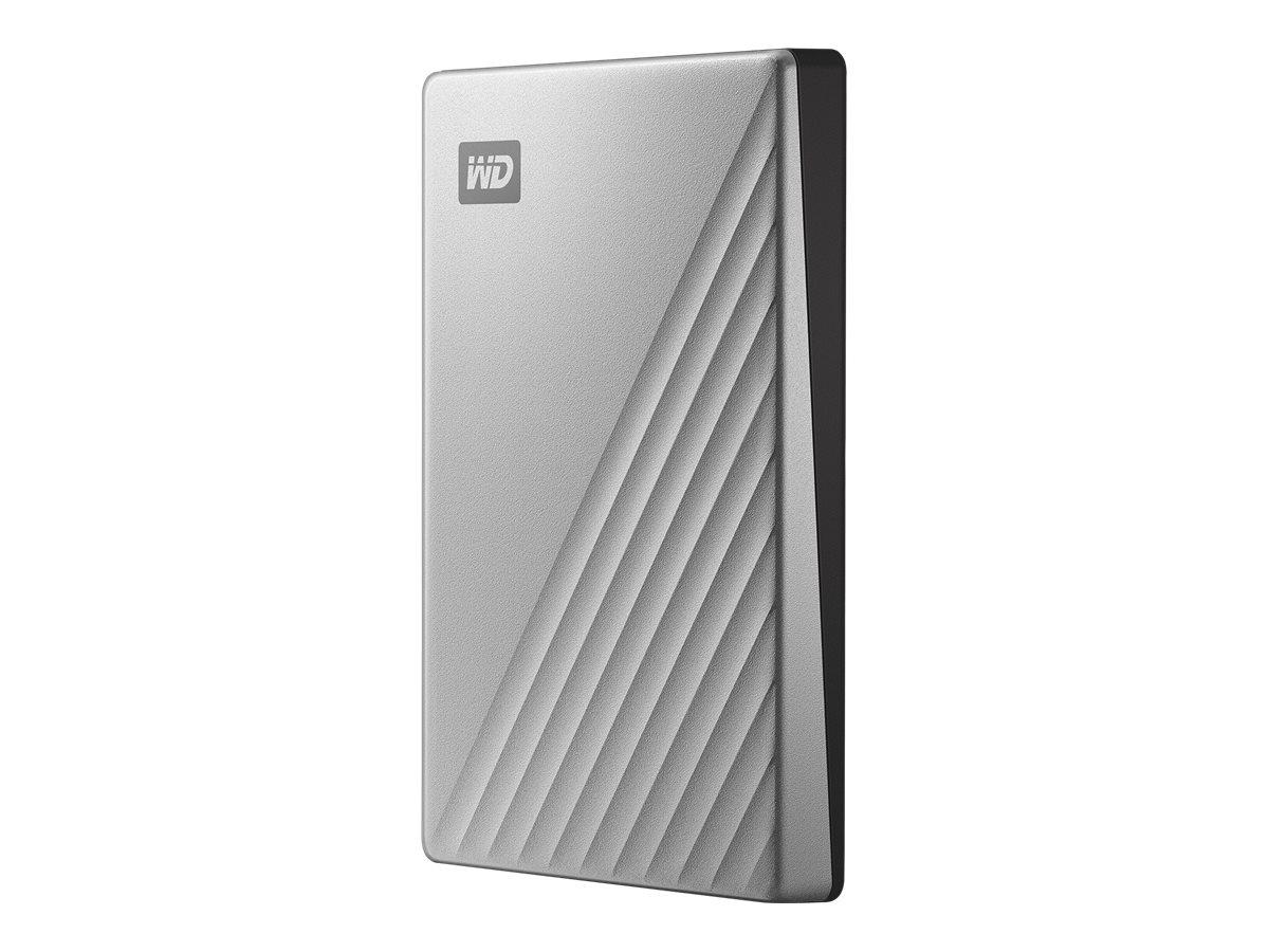 WD My Passport Ultra for Mac WDBKYJ0020BSL - Festplatte - verschlüsselt - 2 TB - extern (tragbar) - USB 3.0 (USB-C Steckverbinde