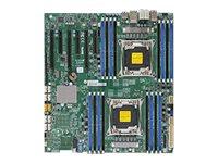 SUPERMICRO X10DAi - Motherboard - Erweitertes ATX - LGA2011-v3-Sockel - 2 Unterstützte CPUs - C612