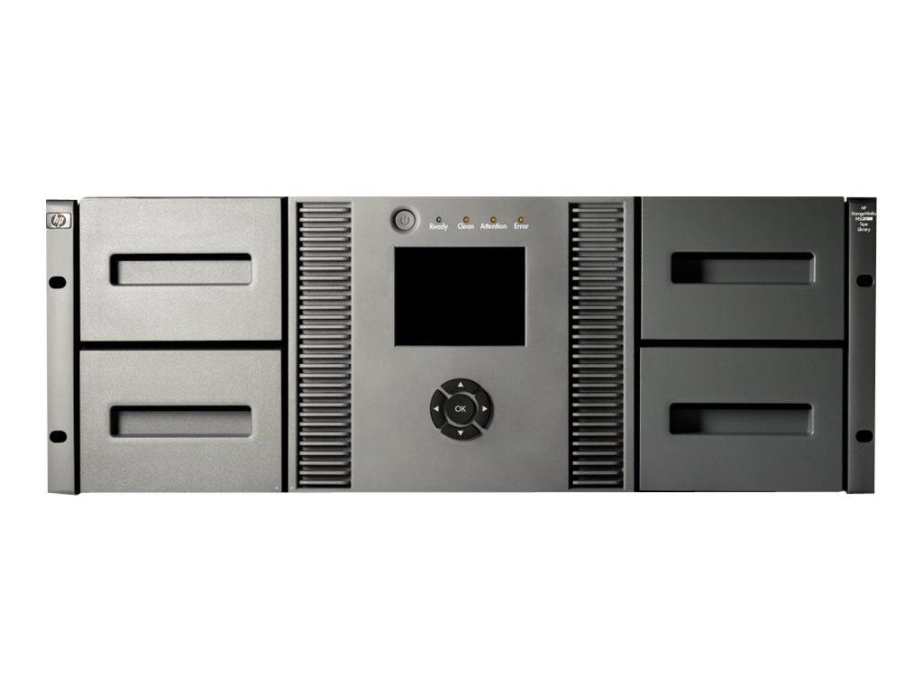HPE StoreEver MSL4048 - Bandbibliothek - Steckplätze: 48 - keine Bandlaufwerke - max. Anzahl von Laufwerken: 4 - Rack