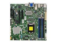 SUPERMICRO X11SSZ-TLN4F - Motherboard - micro ATX - LGA1151 Socket - C236 - USB 3.0