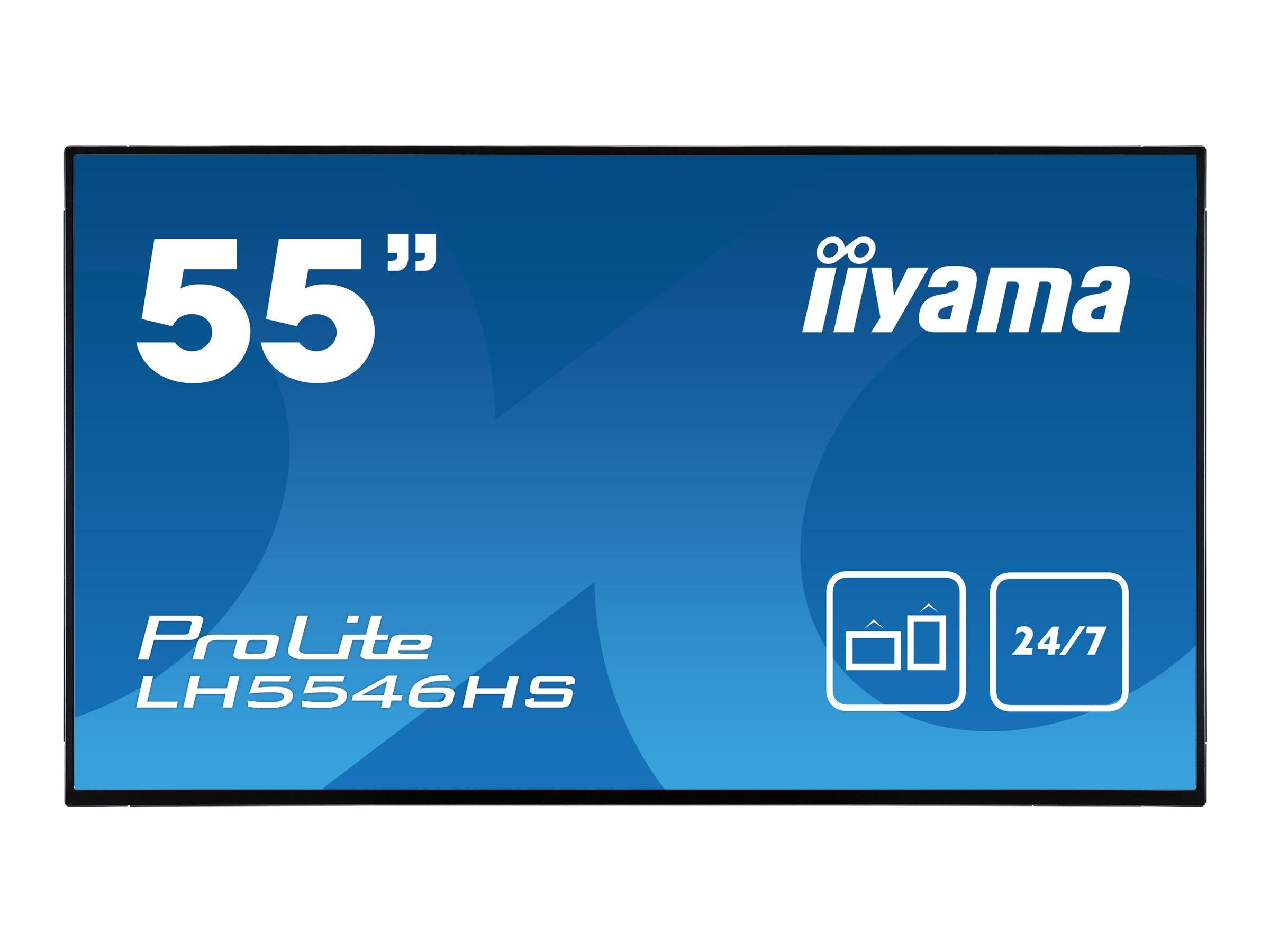 iiyama ProLite LH5546HS-B1 - 139.7 cm (55