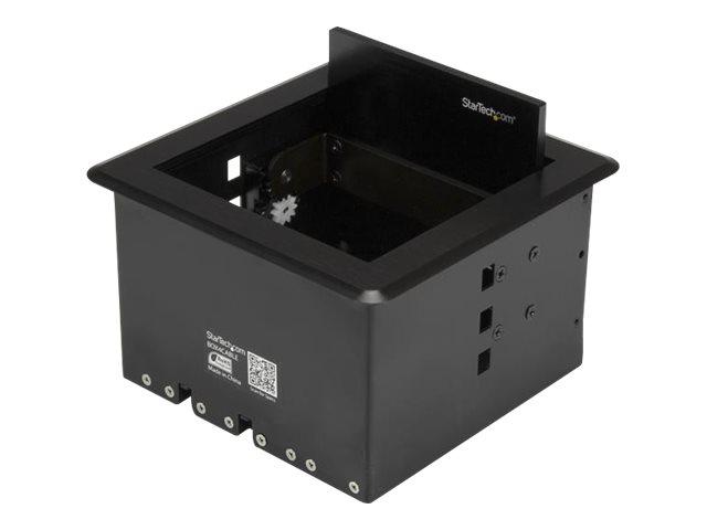StarTech.com Kabelmanagement Box für Konferenztische - Konferenzraum AV - Konferenztisch Konnektivitätsbox - Kabelmanagement-Box