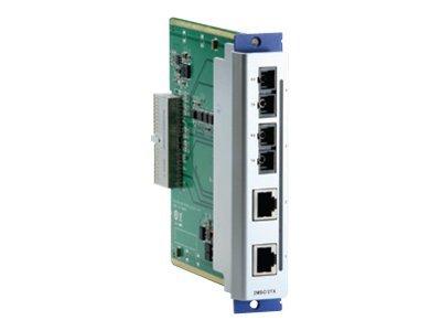 Moxa CM-600-2SSC/2TX - Erweiterungsmodul - 100Mb LAN - 100Base-FX, 100Base-TX - 4 Anschlüsse - 1310 nm
