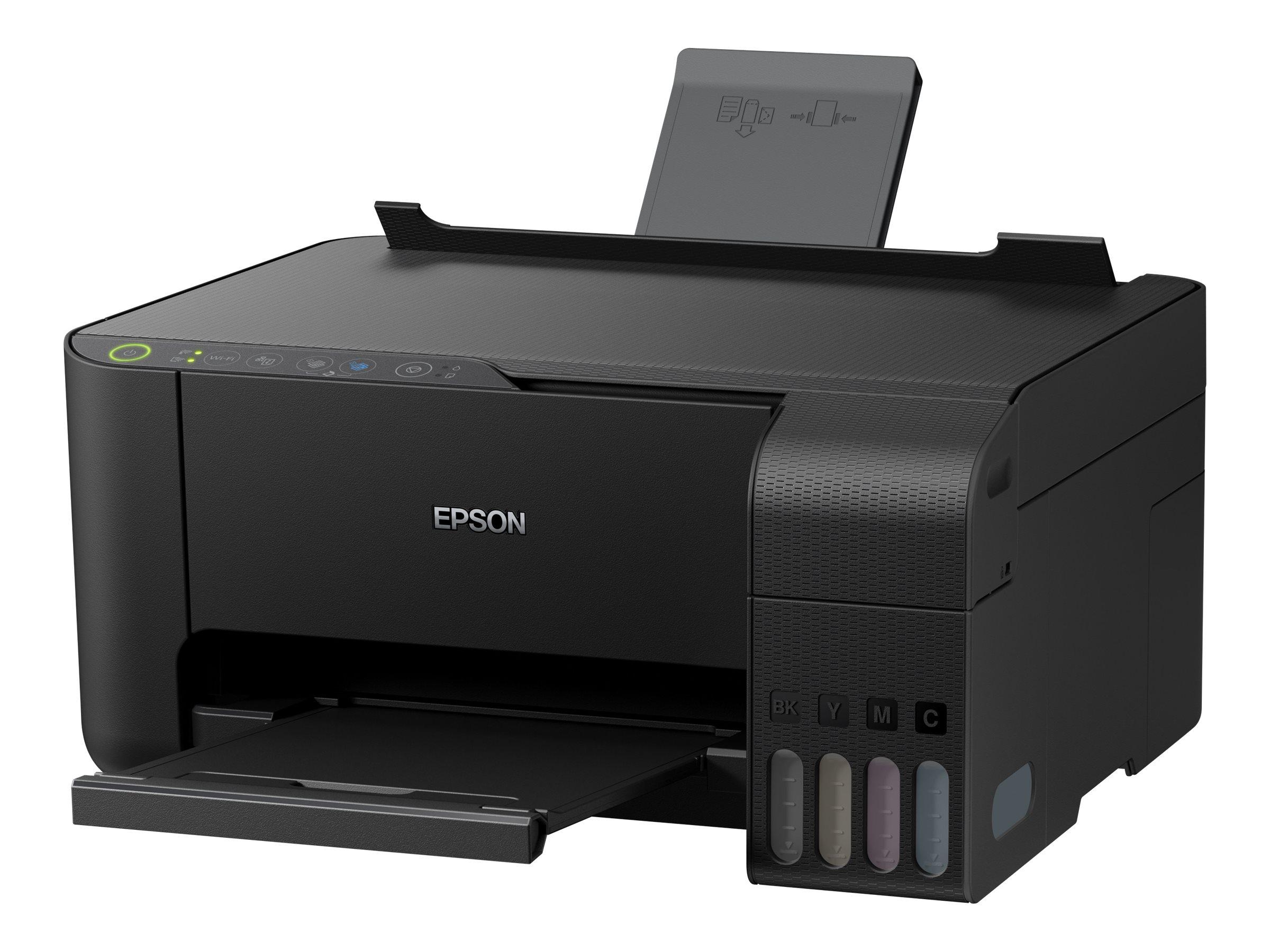 Epson EcoTank ET-2710 - Multifunktionsdrucker - Farbe - Tintenstrahl - A4/Legal (Medien) - bis zu 33 Seiten/Min. (Drucken)