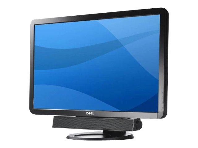 Dell AX510 Sound Bar - Lautsprecher - für PC - 10 Watt (Gesamt) - Schwarz - für Inspiron 17R 57XX, 17R 7720; Latitude D630; Opti