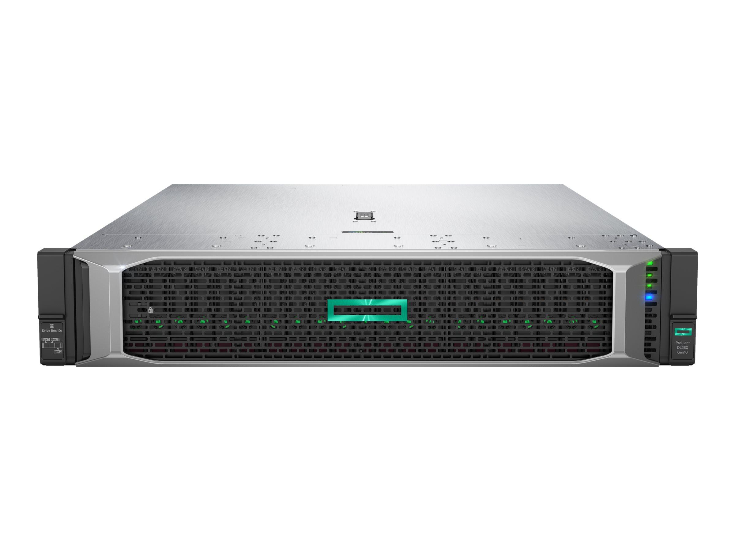 HPE ProLiant DL380 Gen10 Entry - Server - Rack-Montage - 2U - zweiweg - 1 x Xeon Bronze 3104 / 1.7 GHz