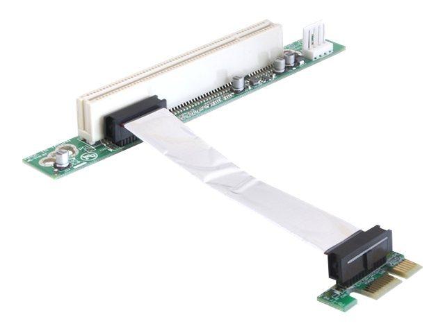 DeLOCK Riser card PCI Express x1 > PCI 32Bit 5 V with flexible cable - Riser Card