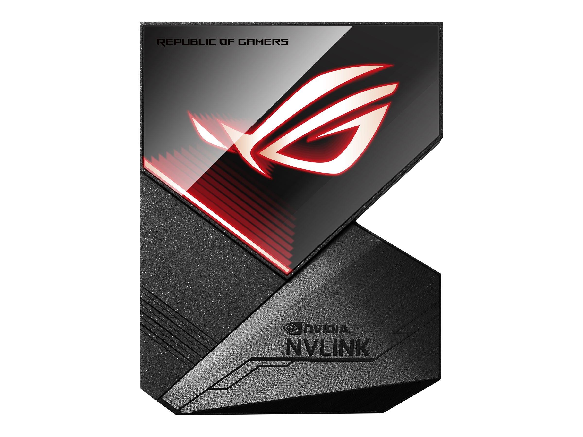 ASUS ROG NVLink - SLI-Bridge für Grafikkarten - für ASUS DUAL-RTX2080, RTX2080TI-A11, ROG-STRIX-RTX2080, ROG-STRIX-RTX2080TI-O11