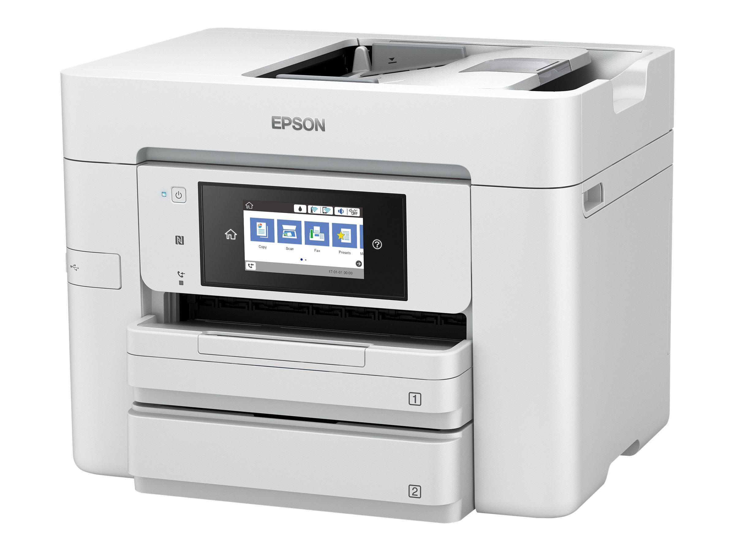 Epson WorkForce Pro WF-4745DTWF - Multifunktionsdrucker - Farbe - Tintenstrahl - A4 (210 x 297 mm) (Original) - A4/Legal (Medien