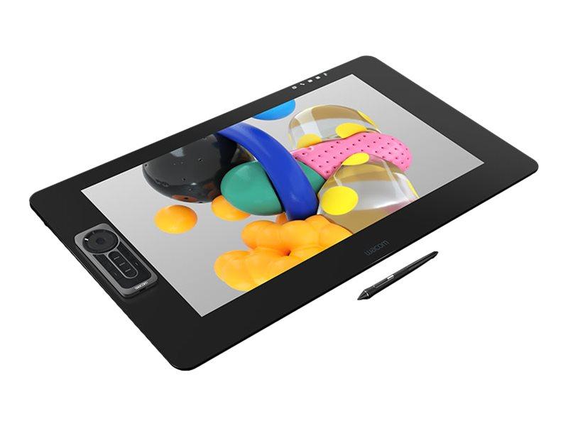 Wacom Cintiq Pro DTK-2420 - Digitalisierer mit LCD Anzeige - 52.2 x 29.4 cm - elektromagnetisch - 17 Tasten - kabelgebunden