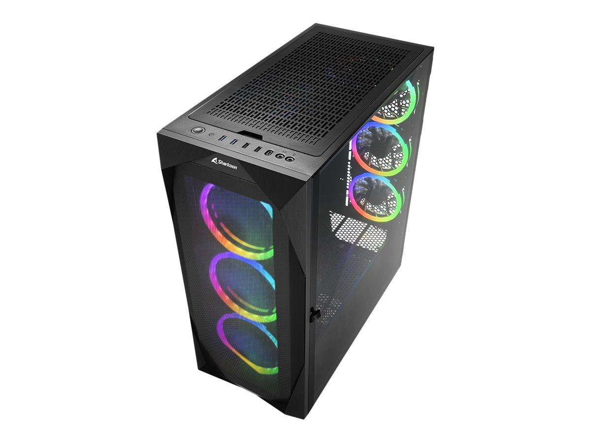 Sharkoon REV300 - Tower - Erweitertes ATX - ohne Netzteil - USB/Audio
