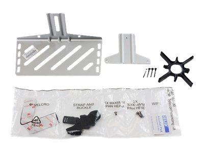 Ergotron Camera Shelf - Montagekomponente (Klammer, Regal, Befestigungsteile, Klettverschlussstreifen, Gurt) für Videokonferenz-
