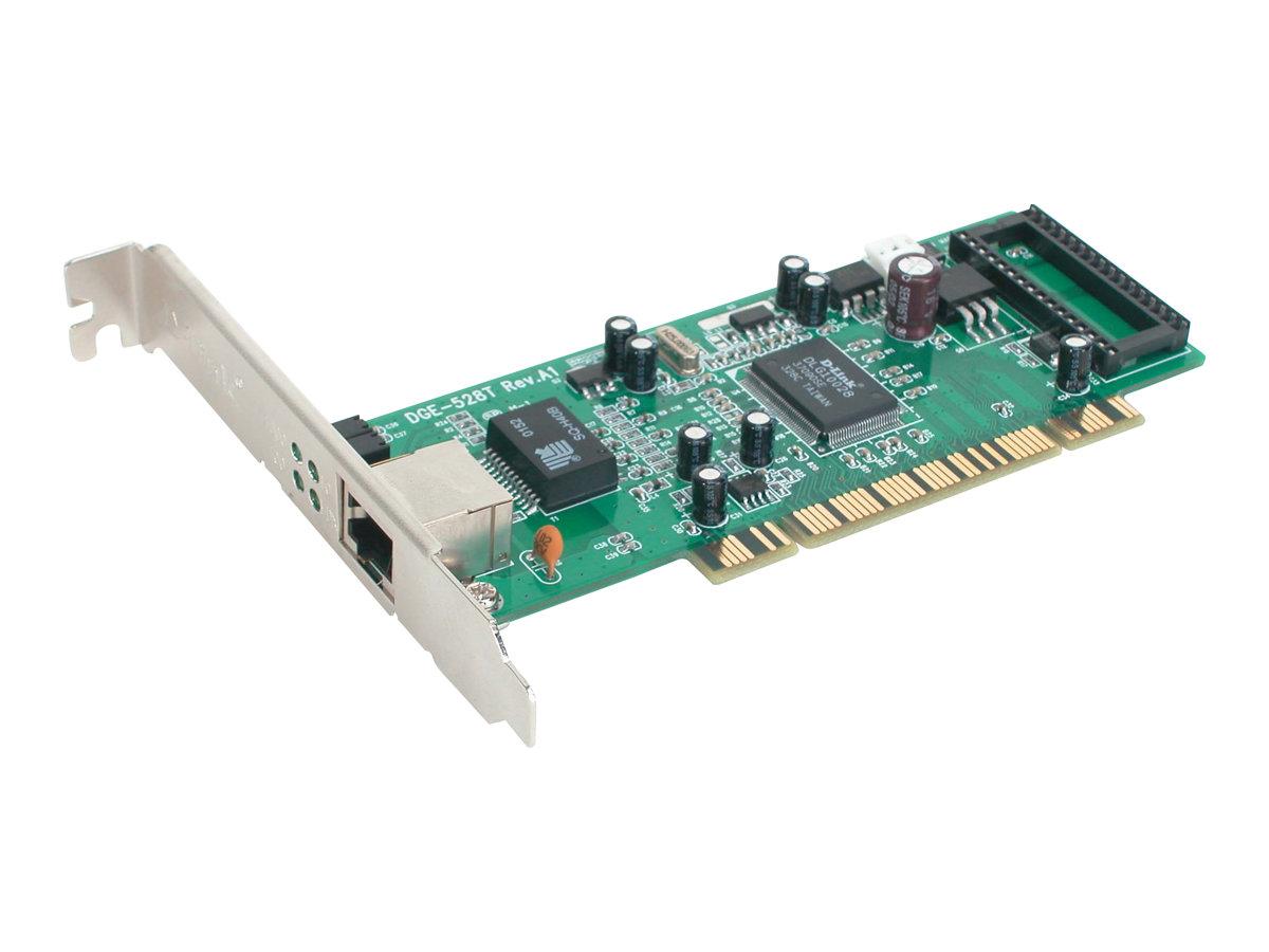 D-Link DGE-528T - Netzwerkadapter - PCI Low-Profile - Gigabit Ethernet