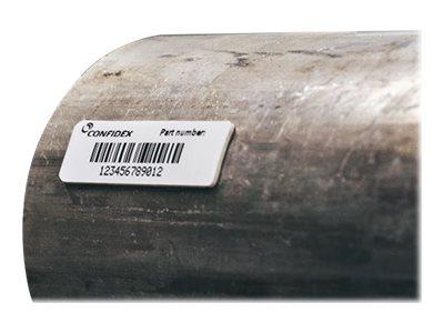 Zebra Silverline Micro M4i - Polyester -, EPC Class 1 Gen 2, 865-928 MHz weiss - 45 x 13 mm 800 Etikett(en) (1 Rolle(n) x 800) R