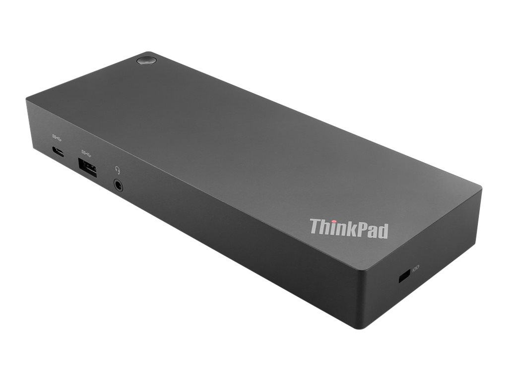 Lenovo ThinkPad Hybrid USB-C with USB-A Dock - Docking Station - USB-C - 2 x HDMI, 2 x DP - GigE - 135 Watt