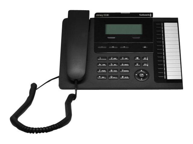 elmeg S530 - Digitaltelefon - Schwarz