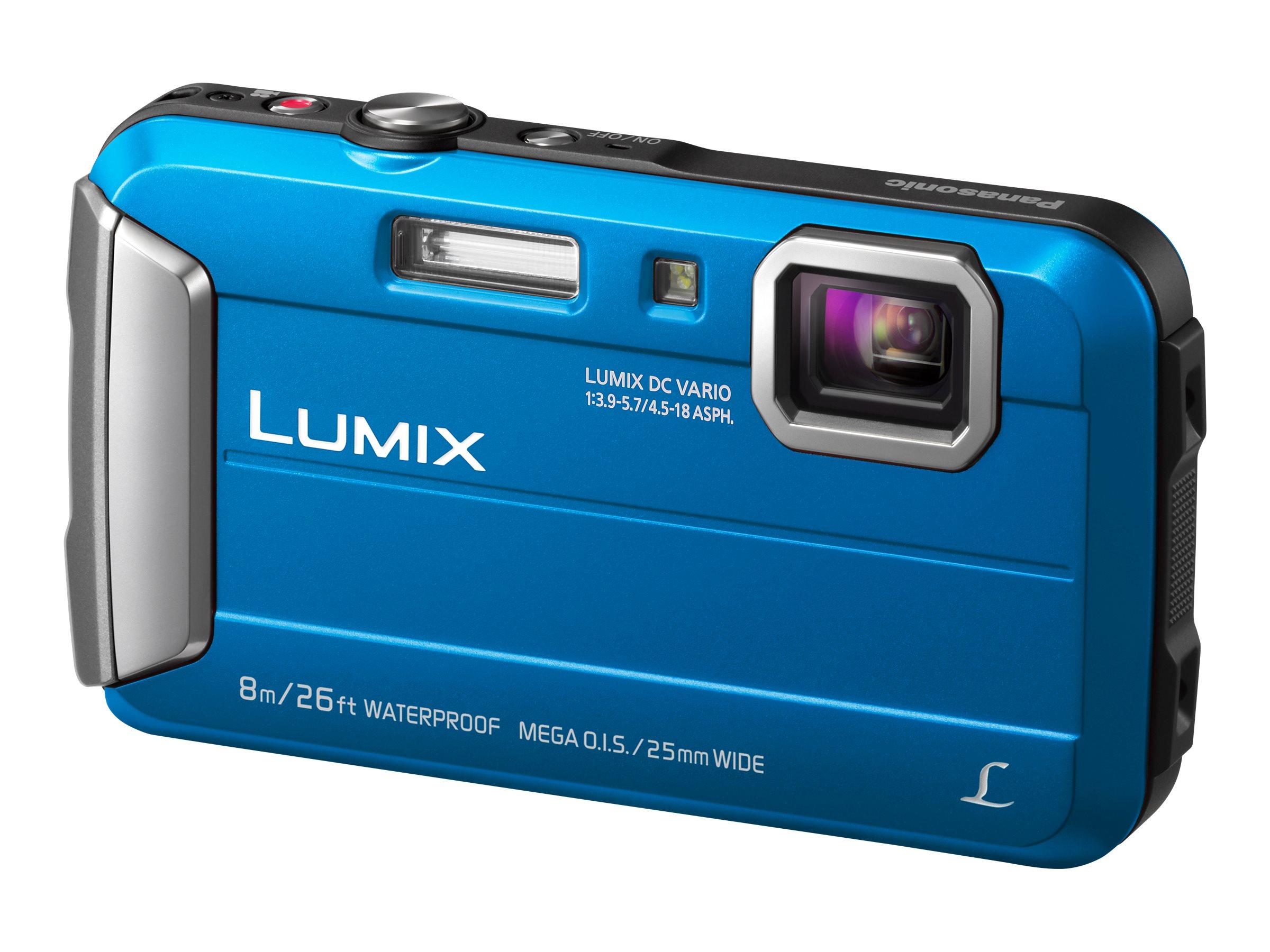 Panasonic Lumix DMC-FT30 - Digitalkamera - Kompaktkamera - 16.1 MPix - 720p - 4x optischer Zoom
