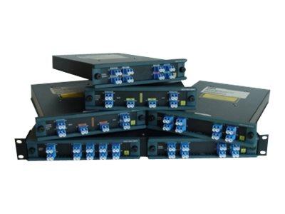 Cisco CWDM Mux/Demux module - Multiplexor - 8 Anschlüsse - Plug-in-Modul