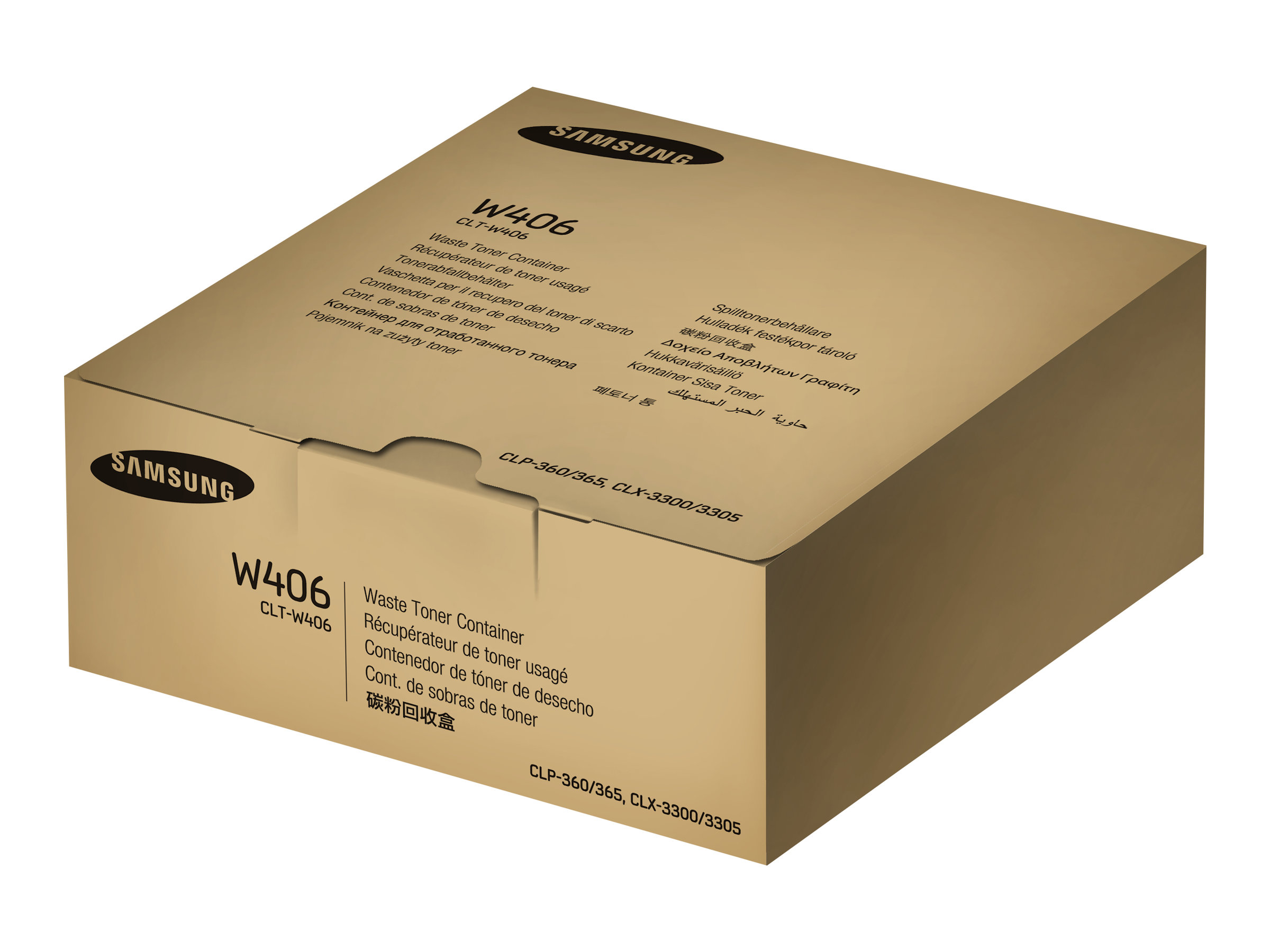 Samsung CLT-W406 - 1 - Tonersammler - für CLP-360, 365; CLX-3300, 3305; Xpress C430, C460, C480