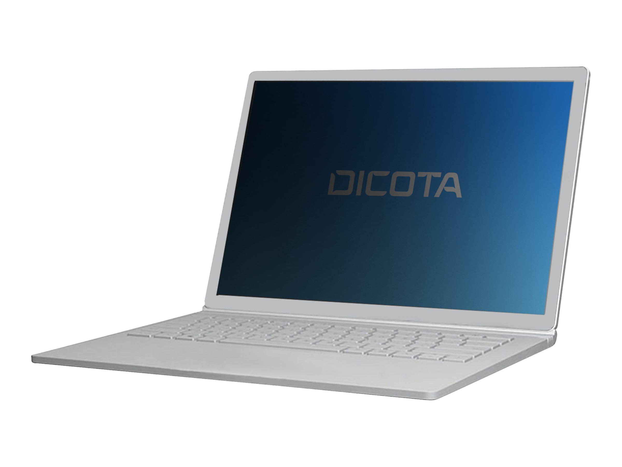 DICOTA - Blickschutzfilter für Notebook - 2-Wege - klebend - Schwarz - für Lenovo ThinkPad X1 Yoga (4th Gen) 20QF, 20QG