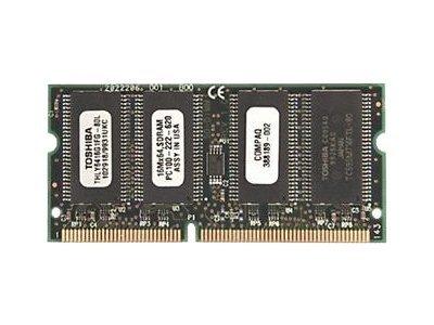 HP - SDRAM - 128 MB - SO DIMM 144-PIN - 100 MHz / PC100 - für Armada 110, 110S, E500, E700, M300, M700, V300; Evo Notebook N400c