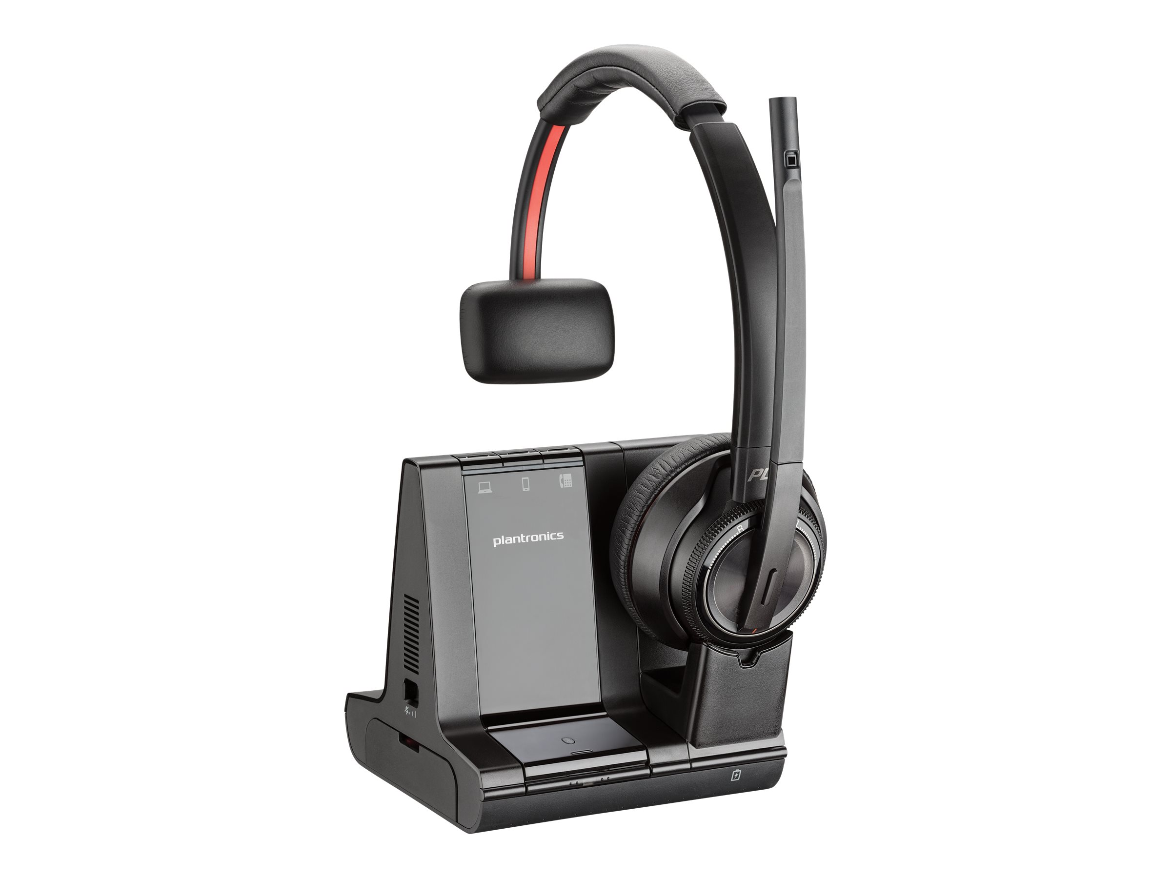Poly Savi 8200 Series W8210-M - Microsoft - Headset - On-Ear - DECT / Bluetooth - kabellos
