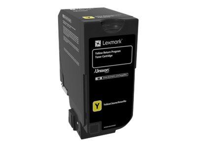 Lexmark - Gelb - Original - Tonerpatrone LCCP, LRP - für Lexmark CS720de, CS720dte, CS725de, CS725dte, CX725de, CX725dhe, CX725d