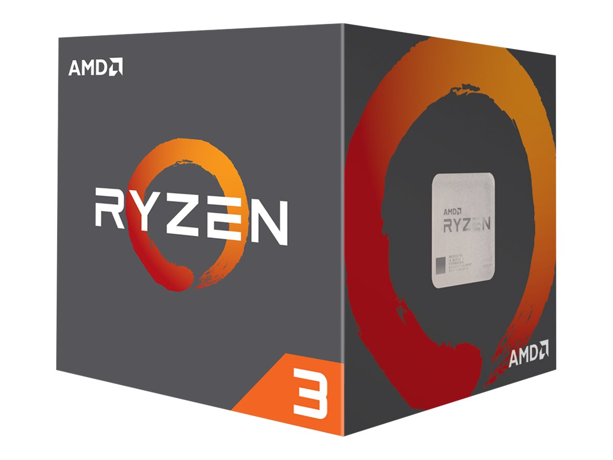 AMD Ryzen 3 1200 - 3.1 GHz - 4 Kerne - 4 Threads - 8 MB Cache-Speicher - Socket AM4