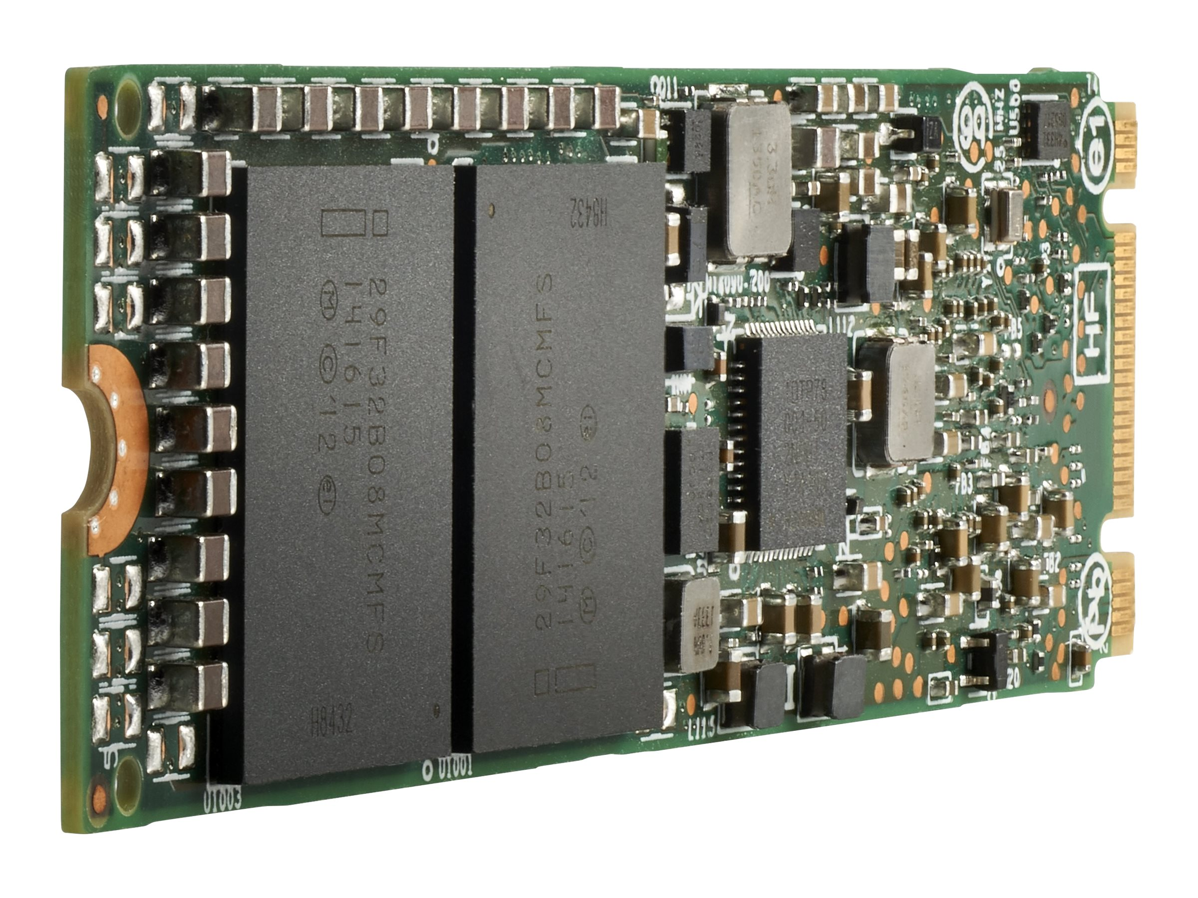 HPE Read Intensive - Solid-State-Disk - 3.84 TB - intern - M.2 22110 - PCI Express x4 (NVMe)