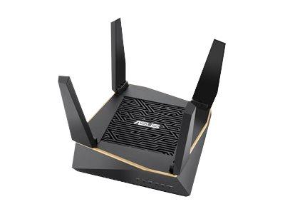 ASUS AiMesh AX6100 RT-AX92U - WLAN-System (2 Router) - Netz - GigE, 802.11ax - 802.11a/b/g/n/ac/ax - Tri-Band