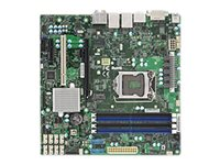 SUPERMICRO X11SAE-M - Motherboard - micro ATX - LGA1151 Socket - C236 - USB 3.0, USB 3.1