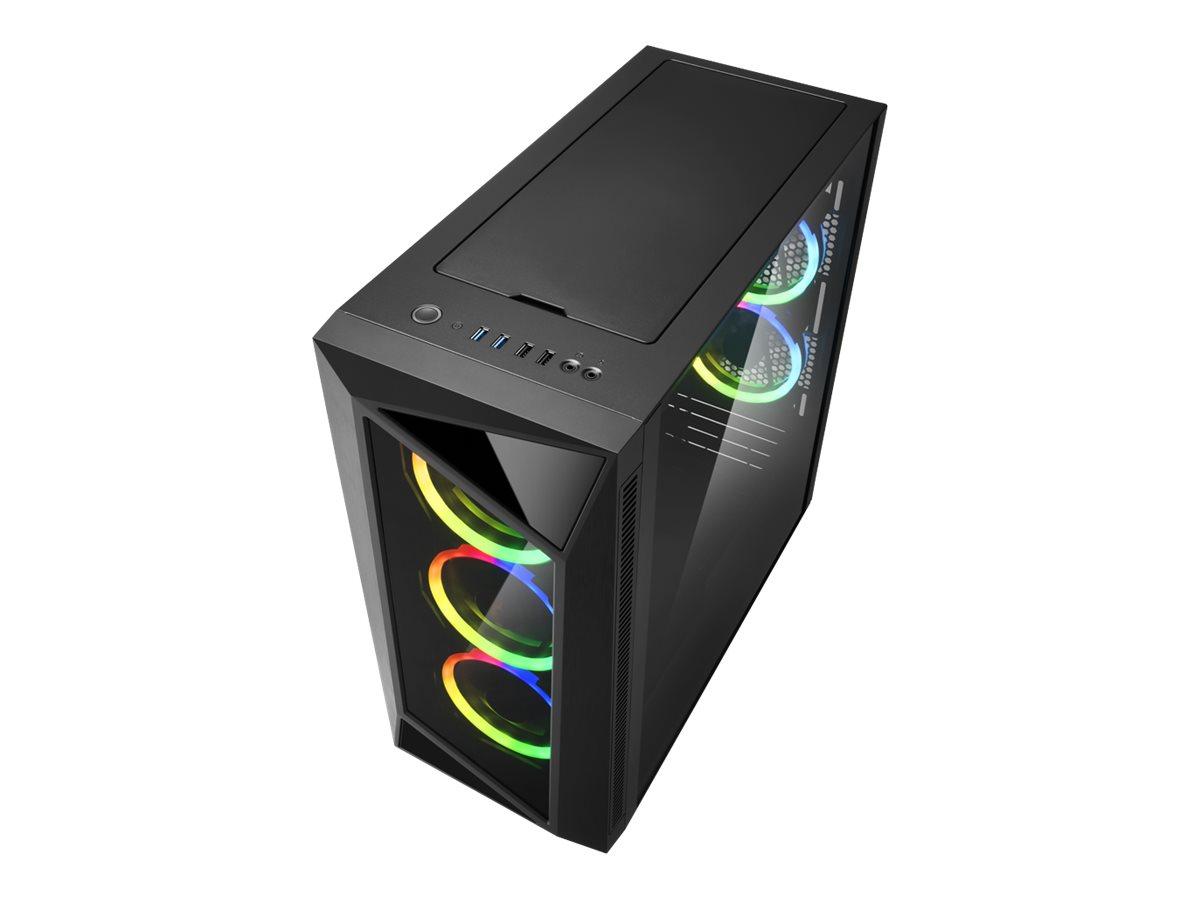 Sharkoon REV200 - Tower - ATX - ohne Netzteil - USB/Audio