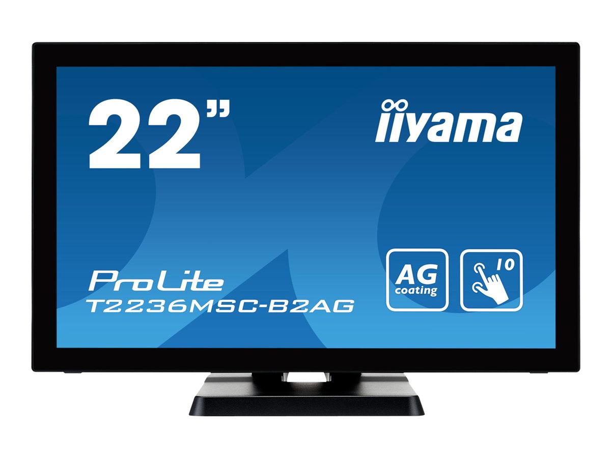 iiyama ProLite T2236MSC-B2AG - LED-Monitor - 55 cm (21.5
