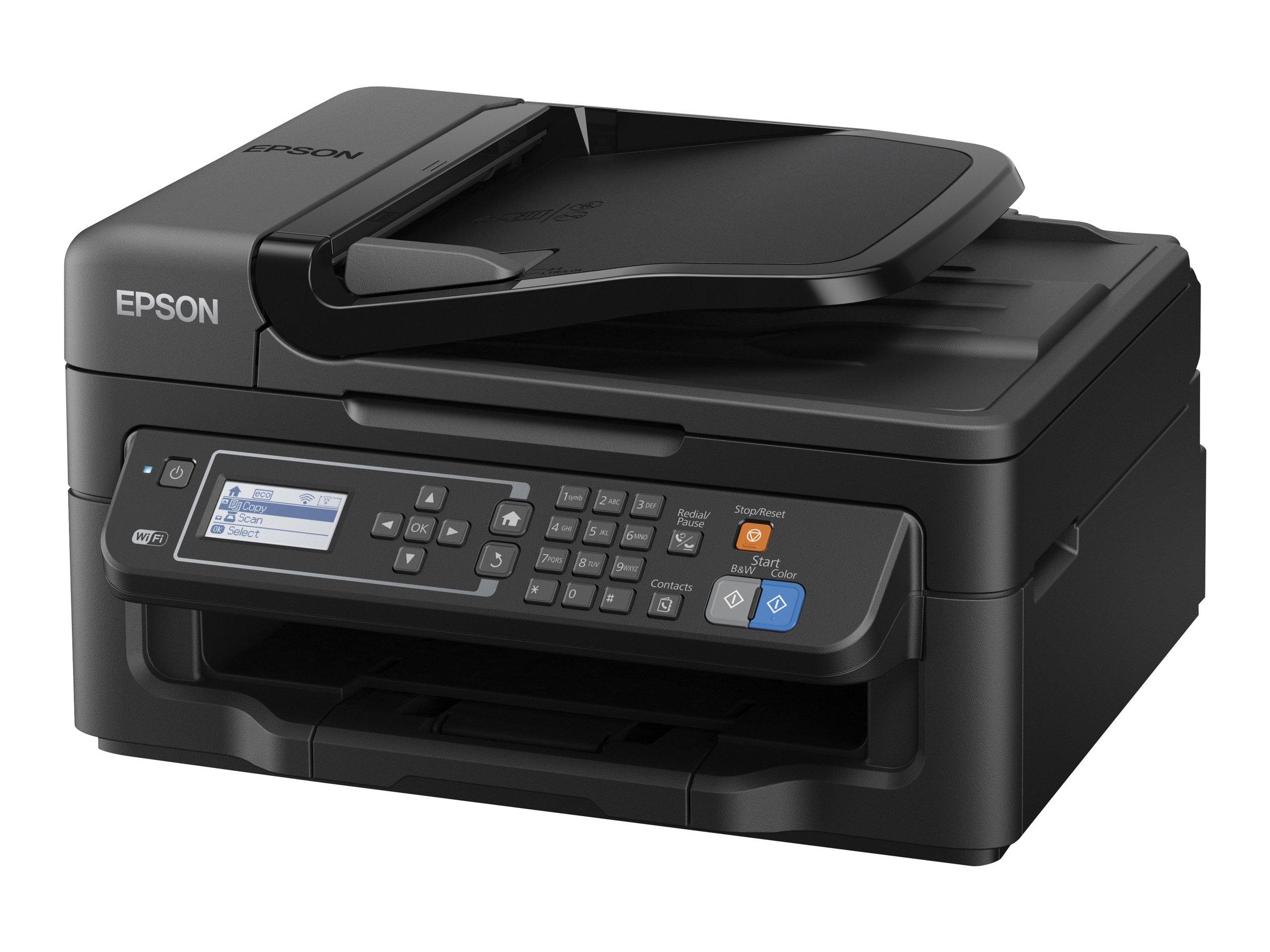 Epson WorkForce WF-2630WF - Multifunktionsdrucker - Farbe - Tintenstrahl - A4/Legal (Medien) - bis zu 34 Seiten/Min. (Drucken)