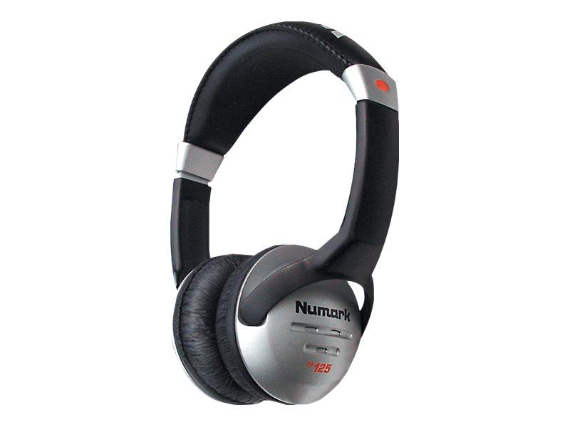 Numark HF125 - Kopfhörer - On-Ear - kabelgebunden - 3,5 mm Stecker