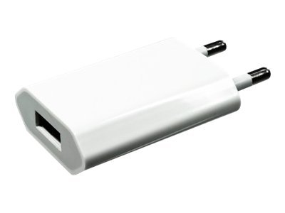 DINIC - Netzteil - 1000 mA (USB) - weiss - für Apple iPad/iPhone/iPod