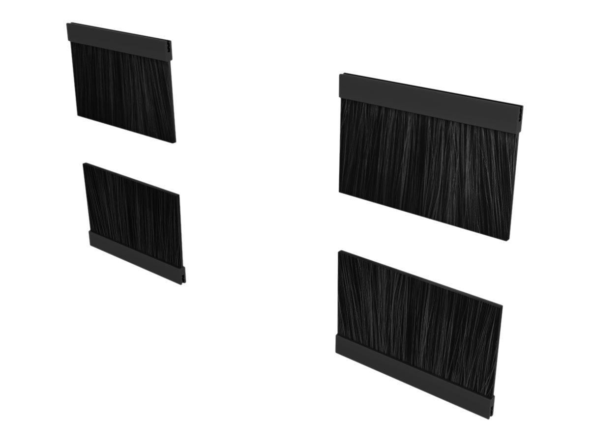 Vertiv - Rack-Dach-Bürsten-Kit - Schwarz (Packung mit 8)