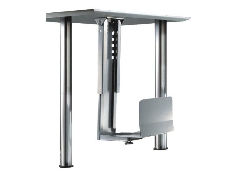 NewStar CPU-D200SILVER - Halterung für Systemeinheit - unter Tisch montierbar - Silber