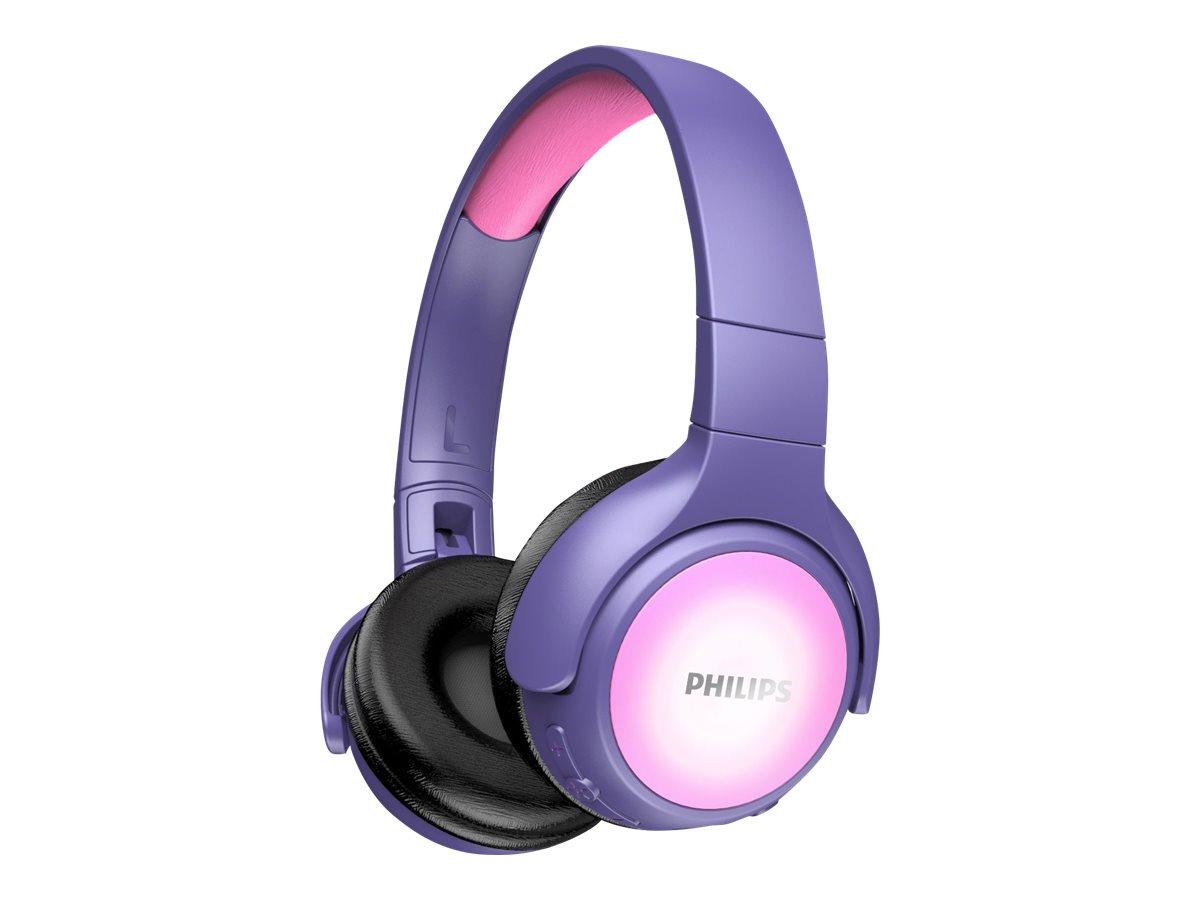 Philips TAKH402PK - Kopfhörer mit Mikrofon - On-Ear - Bluetooth - kabellos - pink