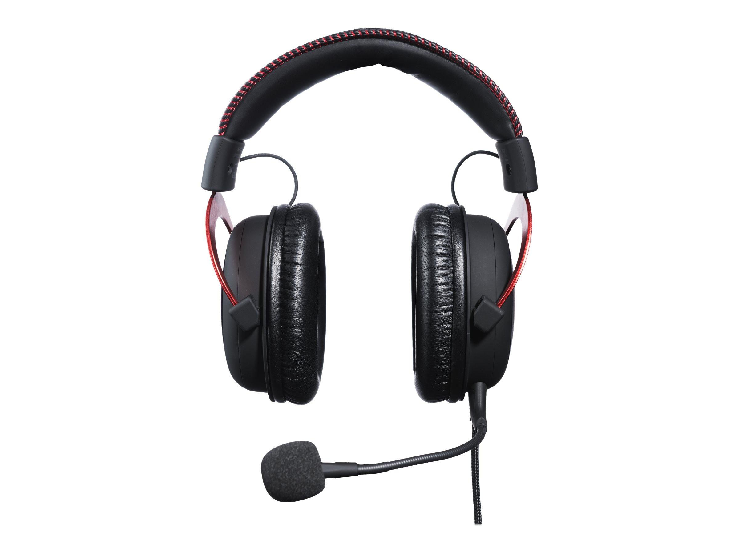 HyperX Cloud II - Headset - ohrumschliessend - 2,4 GHz - kabellos - Rot