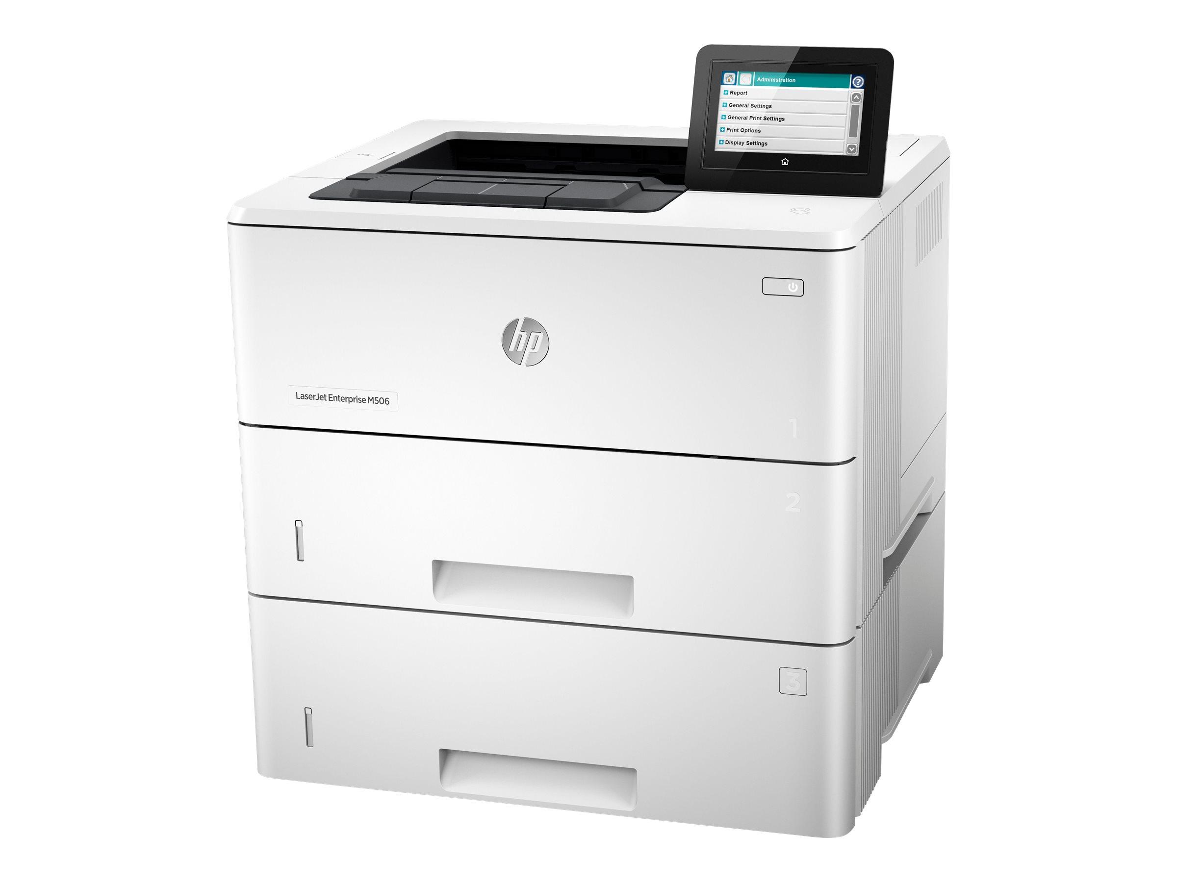 HP LaserJet Enterprise M506x - Drucker - monochrom - Duplex - Laser - A4/Legal