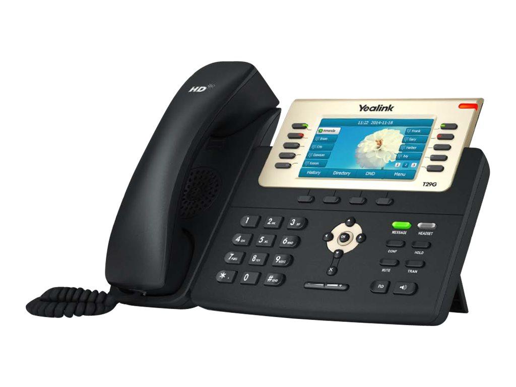 Yealink T29G - VoIP-Telefon - SIP, SIP v2, SRTP - 16 Zeilen
