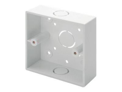 DIGITUS Professional DN-93806-1 - Installationskasten Netzwerkoberfläche - Pure White