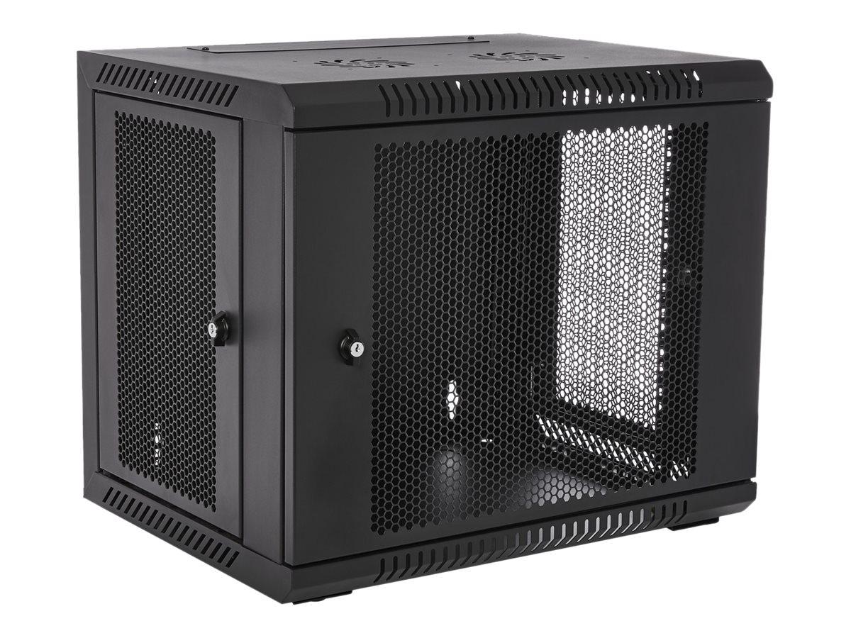 V7 RMWC9UV450-1E - Schrank - Netzwerkschrank - geeignet für Wandmontage - 9U