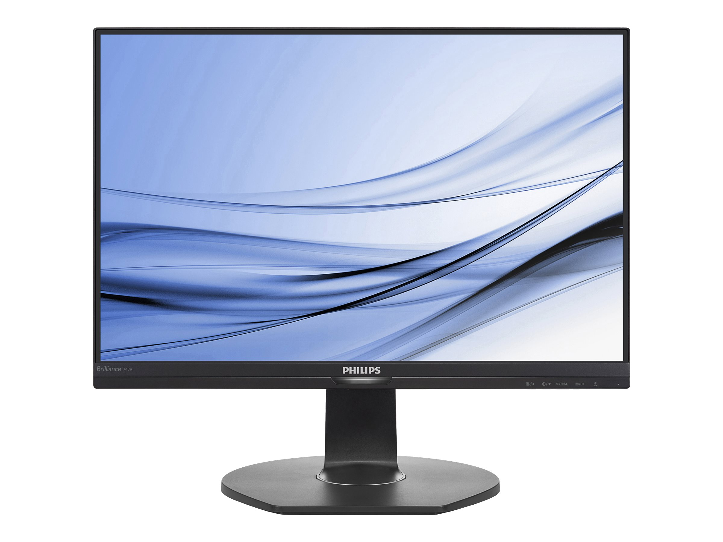Philips Brilliance B-line 242B7QPTEB - LED-Monitor - 61 cm (24