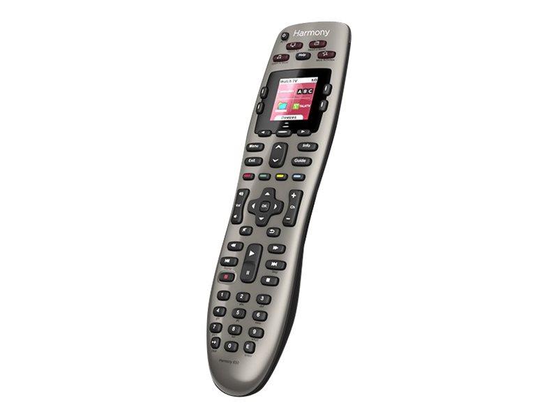 Logitech Harmony 650 Remote - Universalfernbedienung - Anzeige - LCD - infrarot