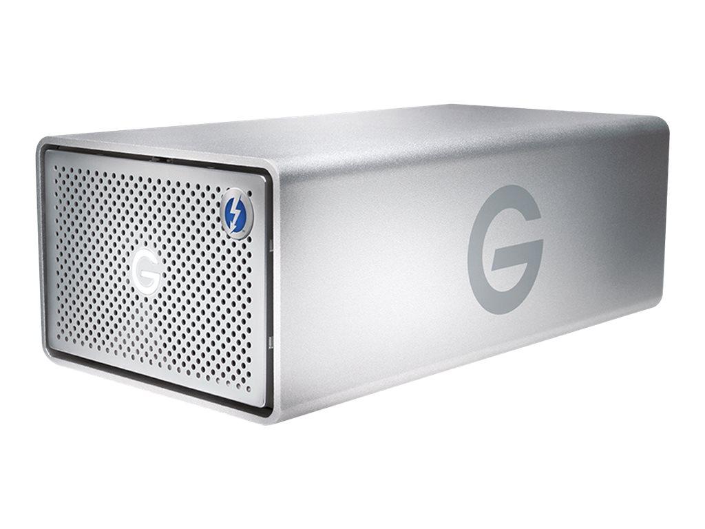 G-Technology G-RAID Removable GRARTH2EB160002BAB - Festplatten-Array - 20 TB - 2 Schächte (SATA-600) - HDD 10 TB x 2 - USB 3.0,