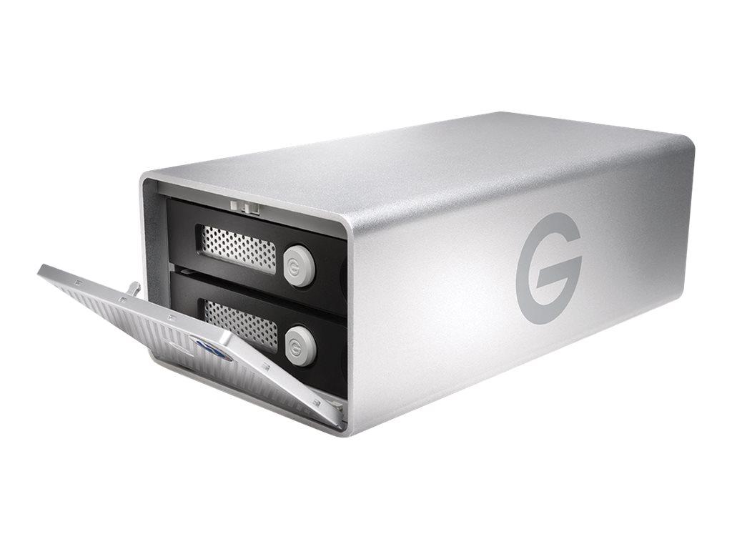 G-Technology G-RAID with Thunderbolt 3 GRARTH3EB80002BDB - Festplatten-Array - 8 TB - 2 Schächte - HDD 4 TB x 2 - USB 3.1, Thund