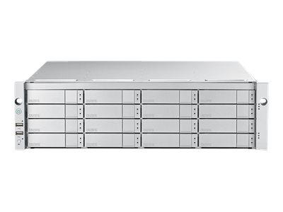 Promise VTrak E5600FD - Festplatten-Array - 160 TB - 16 Schächte (SATA-600 / SAS-3) - HDD 10 TB x 16 - 16Gb Fibre Channel (exter