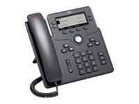 Cisco IP Phone 6841 - VoIP-Telefon - SIP, SRTP - 4 Leitungen - holzkohlefarben